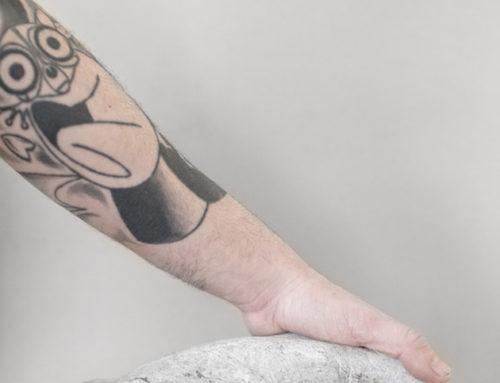 La mano del padre