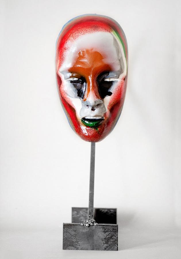 Bertrand Grave. Escultura. Resina. Hannya Love 2015.