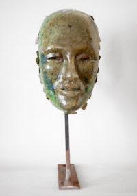 Bertrand Grave. Escultura. Resina. Hannya 0.1 2015.