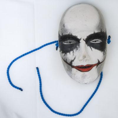 Bertrand Grave. Escultura. Resina. Antihéroes. Joker. 2015.
