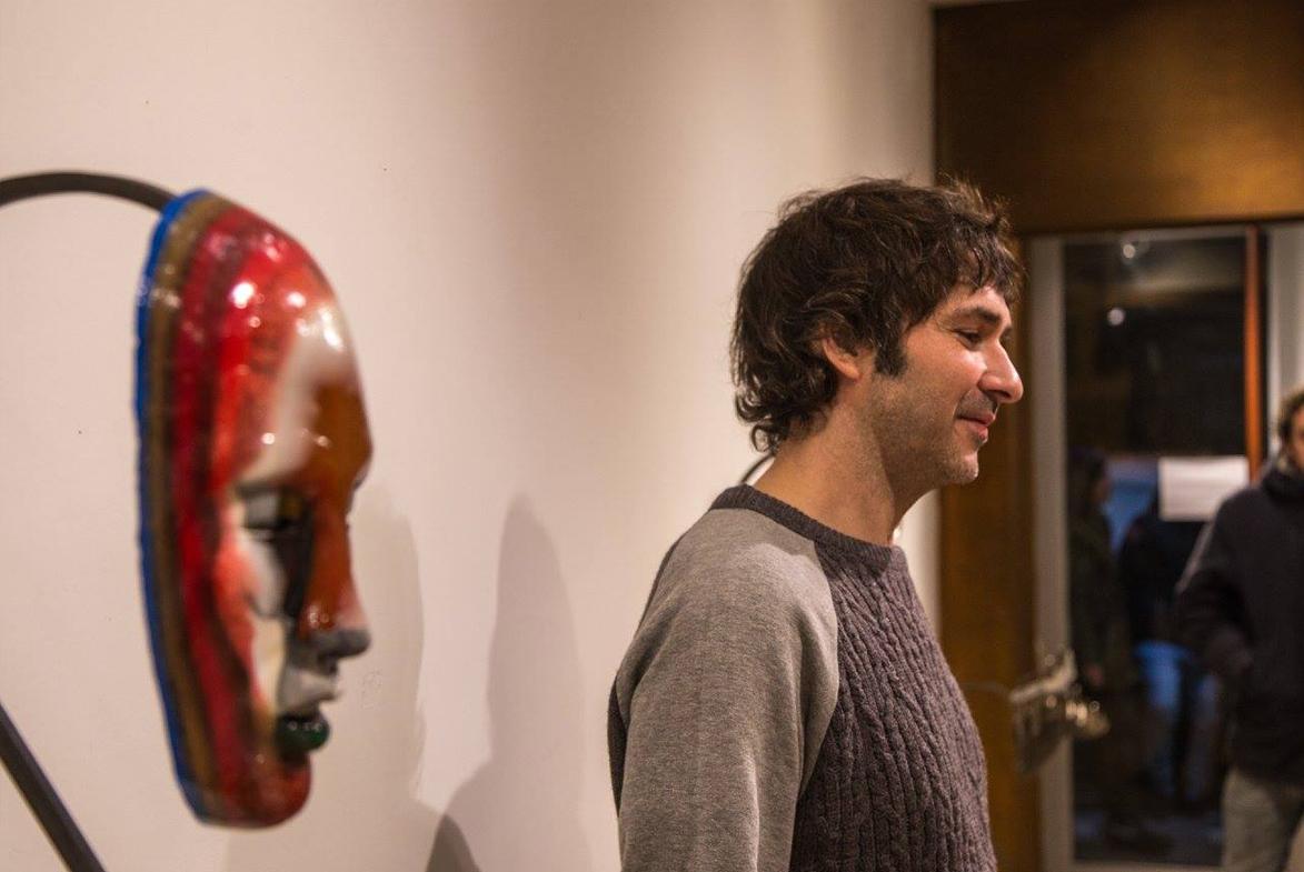 """Bertrand Grave. Exposición 0.1 """"CEROPUNTOUNO"""". Galería Finestra Estudio. 2017."""