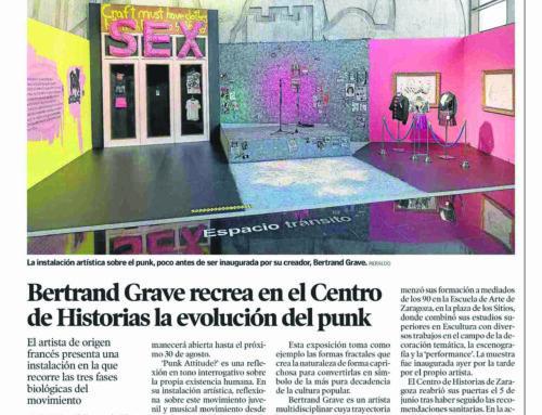 Punk Attitude?en Heraldo de Aragón