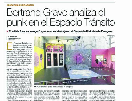 Punk Attitude? en el Periódico de Aragón